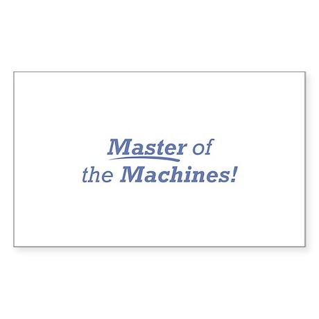 Machines / Master Sticker (Rectangle)