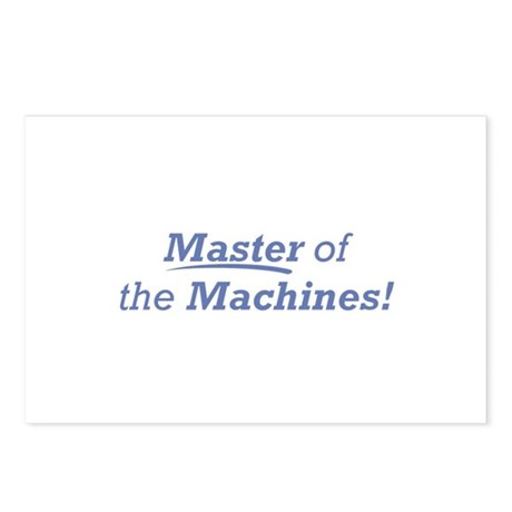 Machines / Master Postcards (Package of 8)