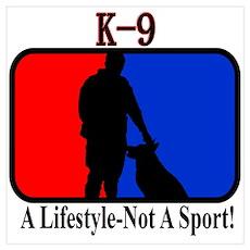 K9 lifestyle Poster