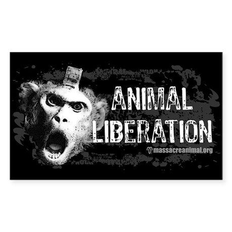 Animal Liberation 1 - Sticker (Rectangle 50 pk)