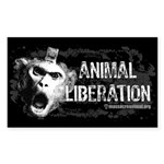 Animal Liberation 1 - Sticker (Rectangle 10 pk)