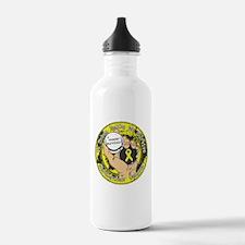Testicular Cancer ItTakesBalls Water Bottle