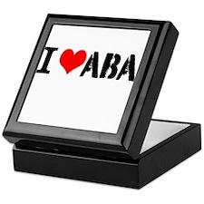 I Heart ABA Keepsake Box
