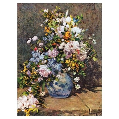 Bouquet of Spring Flowers Poster
