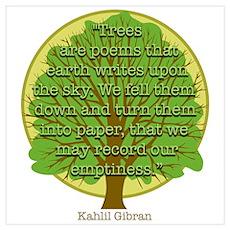 Tree Wisdom Poster