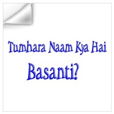 Basanti Wall Decal