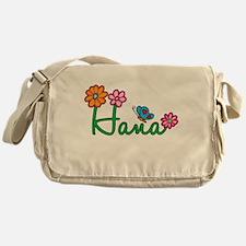 Hana Flowers Messenger Bag
