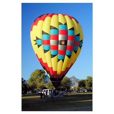 Southwestern Balloon Poster