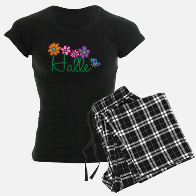 Halle Flowers pajamas