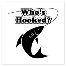 Who is really hooked? The fish or the fishing addi Poster
