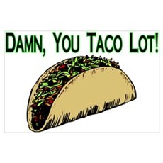 Taco Lot Poster