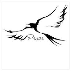 Peace dove Poster