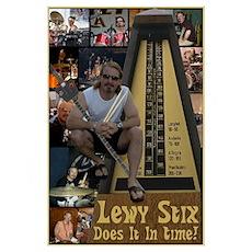 Lewy Stix Poster