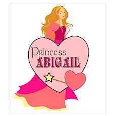 Princess Abigail Poster