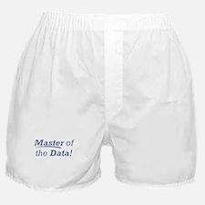 Data / Master Boxer Shorts