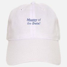 Data / Master Baseball Baseball Cap