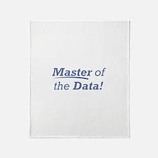 Data / Master Throw Blanket