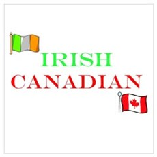 Irish Canadian Canvas Art