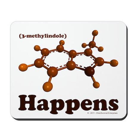 3-Methylindole Happens Mousepad