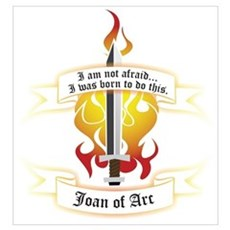 Joan of Arc - Born to Do This Poster