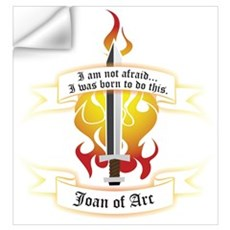 Joan of Arc - Born to Do This Wall Decal