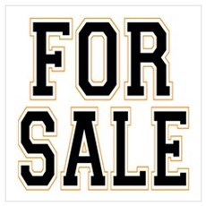 For Sale Poster