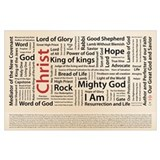 Christianity Wrapped Canvas Art