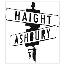 Haight Ashbury Poster