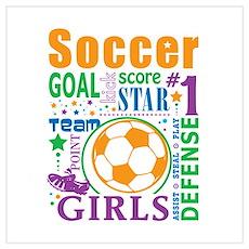 Bourne Soccer Poster