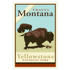 Travel Montana Framed Print