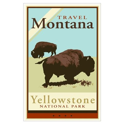 Travel Montana Poster