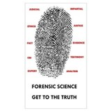 Forensic science Wrapped Canvas Art