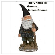James Gnome Poster