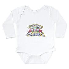 Vintage Captain Planet Long Sleeve Infant Bodysuit