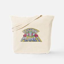 Vintage Captain Planet Tote Bag