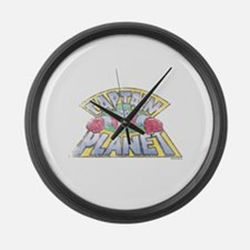 Vintage Captain Planet Large Wall Clock