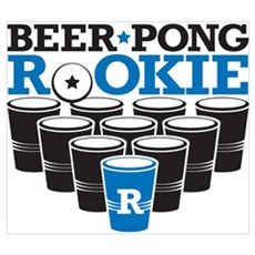 Beer Pong Rookie Canvas Art