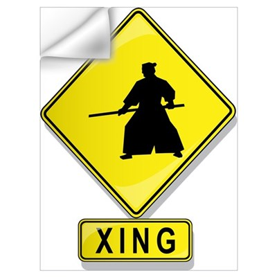 Aikidoist XING Wall Decal