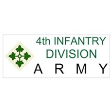 4th INFANTRY Canvas Art