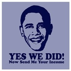 Yes We Did! Now Send Me Your Poster