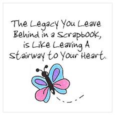 Scrapbooking Legacy Poster