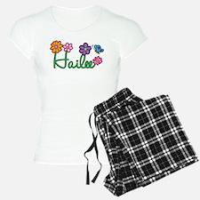 Hailee Flowers Pajamas
