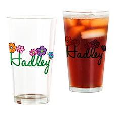 Hadley Flowers Drinking Glass