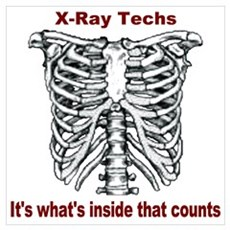 X-Ray Techs Inside Poster