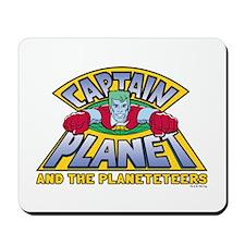 Captain Planet Logo Mousepad