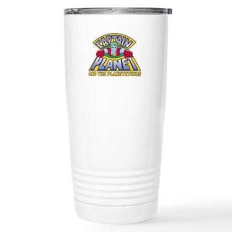 Captain Planet Logo Stainless Steel Travel Mug