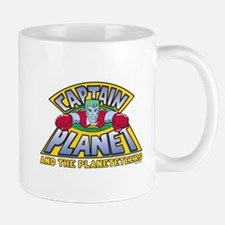 Captain Planet Logo Mug