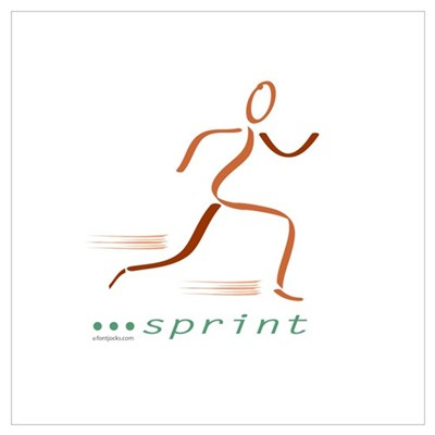 Sprinter Canvas Art