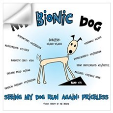 Bionic Dog Wall Decal