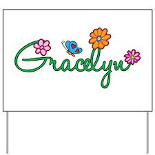 Gracelyn Flowers Yard Sign